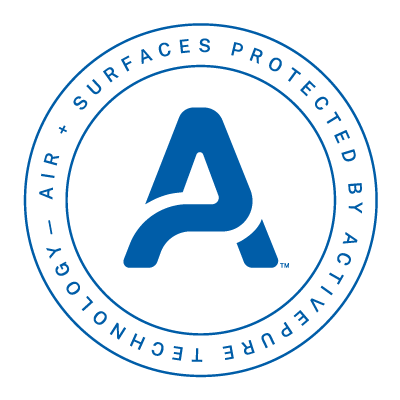 ActivePure Technology protection, continuous reduction of viruses bacteria and mold in surfaces and air