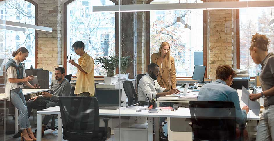 people in office protected by activepure technology