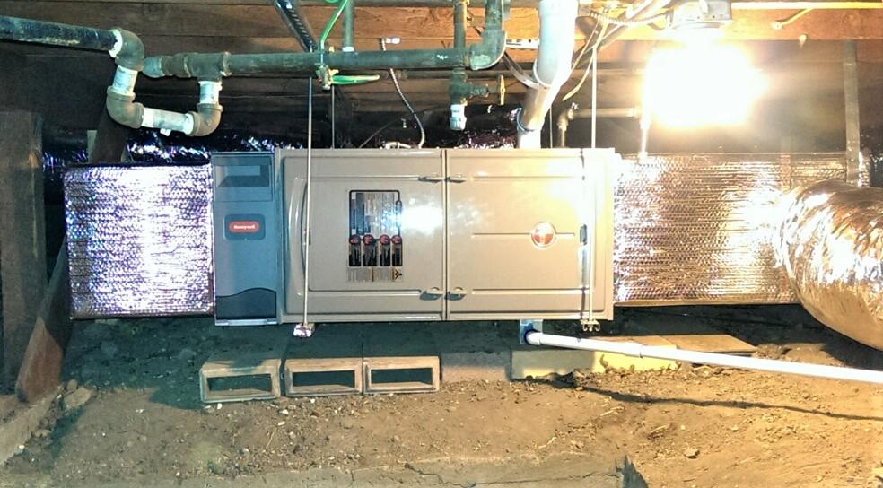 Haddon-HVAC-system-installation